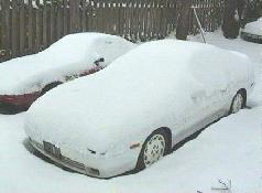 Click to see Keith's car buried by a rare Portland snow storm - Large