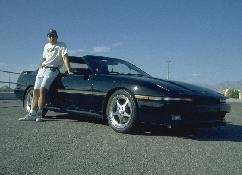 Click to see Larry and his Baby in the Vegas98 Meet Parking Lot - Large