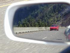 Click to see 'Objects in Mirror are about to Pass You!' - Large