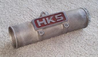 Click to see the original HKS/3000 pipe - Large