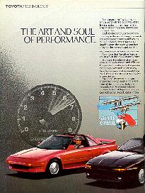 Click to see 89 'The Art and Soul of Performance' Ad (Left) - Large