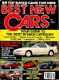 Click to see Consumer's Review of Best New Cars for 1989 - Large