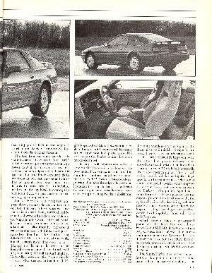 Click to see the right page of Car & Driver's glowing review of the 1989 Turbo Supra - Large