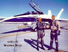 Click to see Keith and I as Area 51 Response Team Pilots - Large