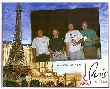 Click to see Chris, Phil, Keith and I at Paris-Las Vegas - Large