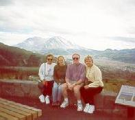 Click to see Gram, Amy, Me and Mom at Mt. St. Helens on Labor Day Weekend - Large