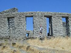 Click to see me in front of the Columbia River Gorge Stonehenge - Large